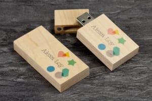 UGV 005 USB Go In khac logo lam qua tang quang cao thuong hieu